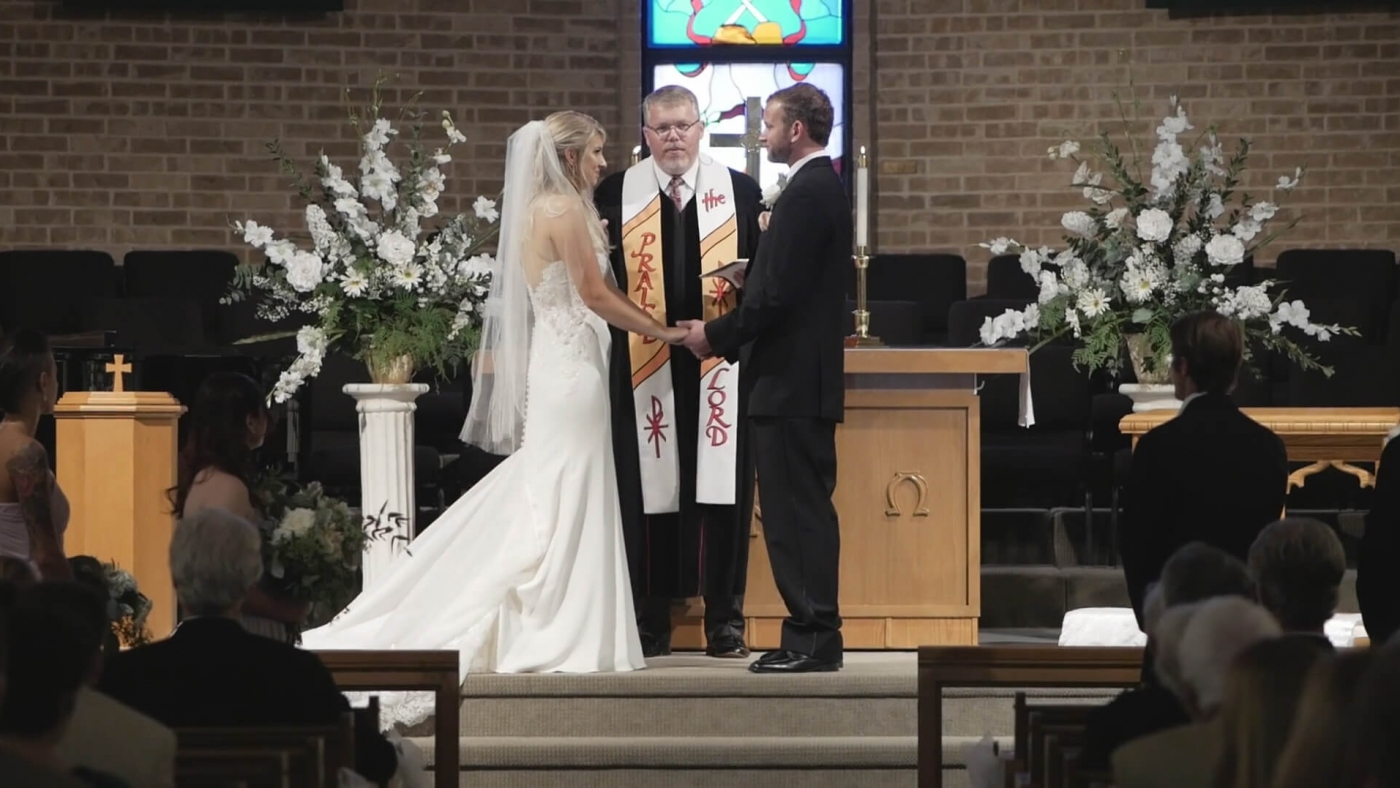 Cypress United Methodist Church Houston tx wedding video